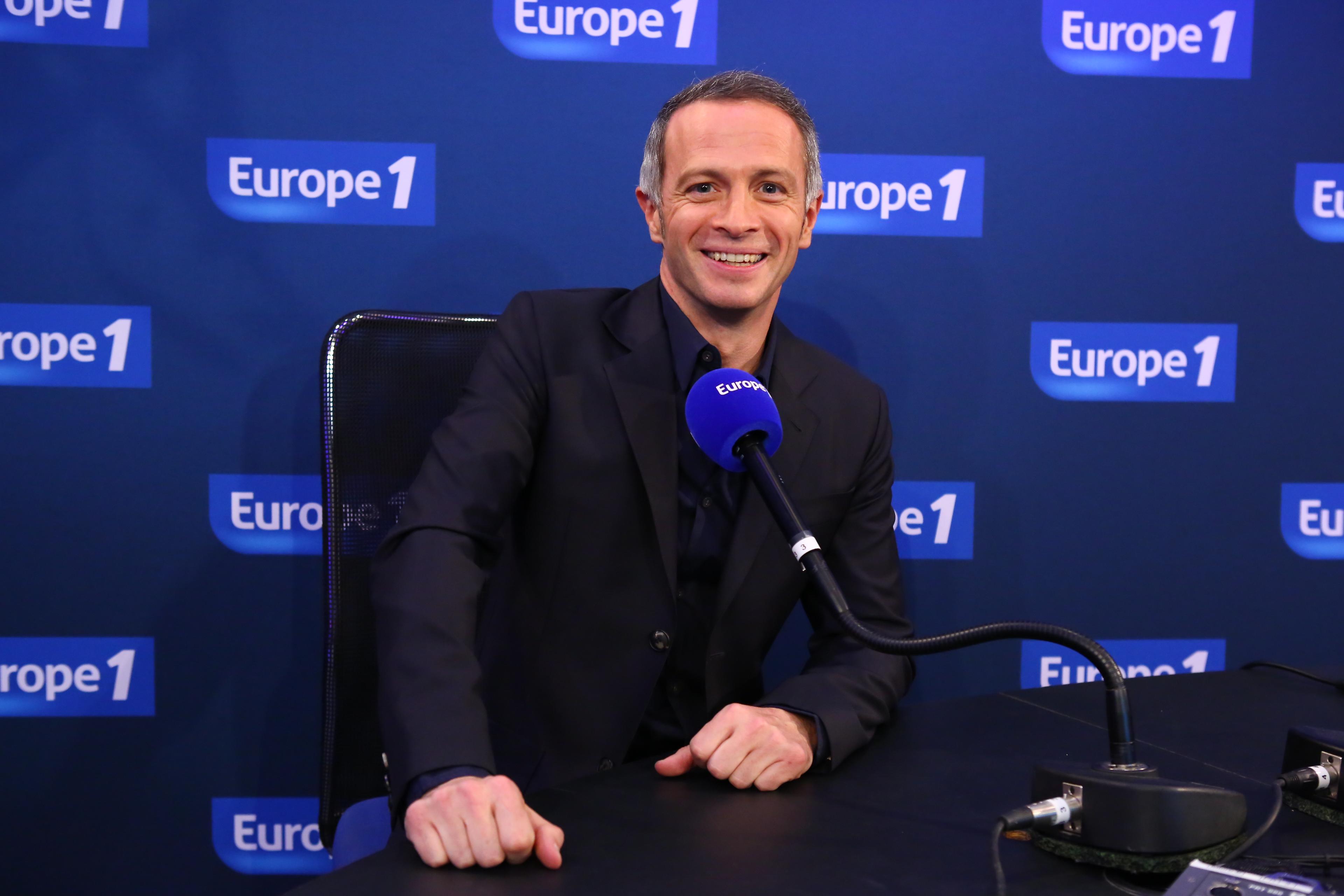 Samuel Etienne, aux commandes de La matinale d'Europe 1 © F Mouroux - CAPA Pictures