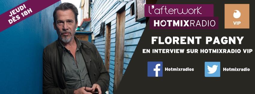 Florent Pagny, invité de la dernière de l'afterwork sur Hotmixradio