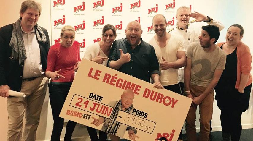 Félicitations (aussi) à Olivier Duroy qui a tout de même réussi à perdre 9.4kg