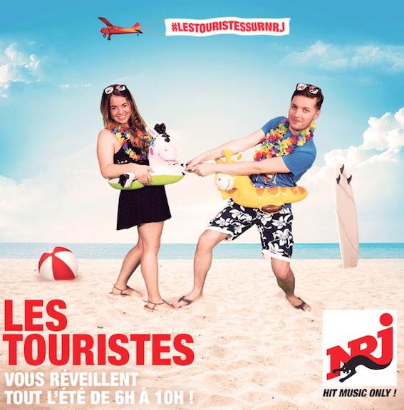 """""""Les Touristes"""", le morning de l'été sur NRJ Belgique"""