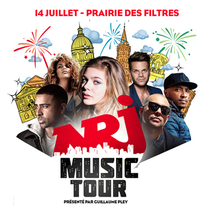 Le NRJ Music Tour à Toulouse