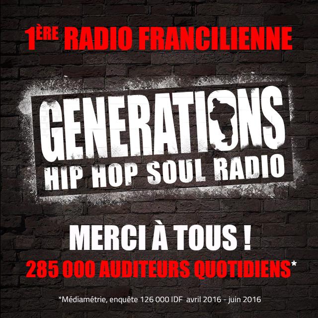Generations : première régionale en Ile-de-France