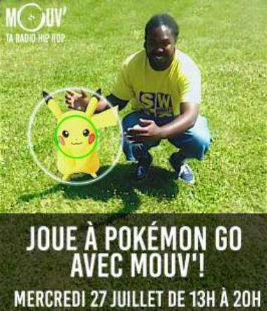 Pokémouv' : la première chasse aux Pokémon version Mouv'
