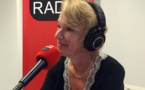 Brigitte Lahaie  sur Sud Radio. Crédit photo : Maniacom Group