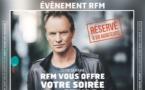Une soirée avec Sting dans les studios de RFM