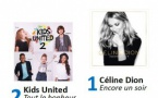 Trois artistes France Bleu au Top 3 des ventes d'albums