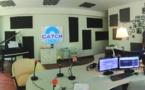 Les studios de The Voice of the Lizard et Catch FM au Twin Palms resort à Phuket - © Olivier Oddou