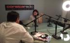 Caroline Ettori aux commandes de Revue de Corse - Crédit : Corsica Radio