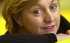 Marie-Christine Vallet présente Micro européen. © Christophe Abramowitz - Radio France