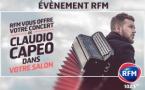 Claudio Capéo en concert avec RFM Strasbourg