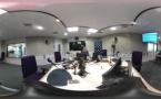 Visite en 360° des studios de France Bleu Normandie