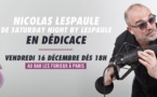 Oüi FM : Nicolas Lespaule en dédicace à Paris