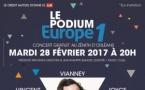 Un Podium Europe 1 à Orléans le 28 février