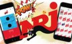 NRJ dans le Top 5 Musique - Internet