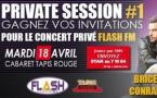 Flash FM organise un concert privé