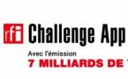 """RFI : lancement du """"RFI Challenge App Afrique"""""""