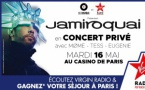 Jamiroquai en concert privé avec Virgin Radio
