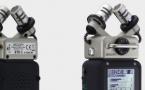 Fournie avec le H5, la capsule de microphone X/Y XYH-5 possède deux microphones électrostatiques unidirectionnels assortis et orientés à 90 degrés l'un par rapport à l'autre.