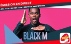 Radio Scoop : émission en direct avec Black M