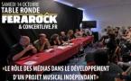 Musique : une table ronde animée par la Ferarock