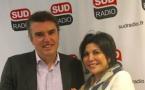 Bruno Dubois est heureux d'accueillir Liane Foly - Crédit Photo : Sud Radio