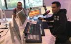 Les animateurs de Toulouse FM disposent d'un nouvel équipement plus compact / Photo François QUAIREL