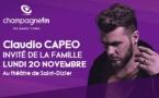 Champagne FM invite Claudio Capéo