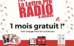 Essayez La Lettre Pro de la Radio gratuitement pendant un mois !