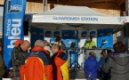 France Bleu Lorraine sur les piste de ski à Gérardmer