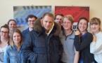 Guillaume Genton rencontre les étudiants de la Skol Radio