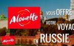 Alouette invite ses auditeurs en Russie