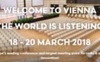 Ouverture des 9èmes Radiodays Europe à Vienne