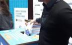 Une boîte de collecte de livres à la Maison de la radio