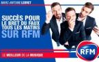 Audience : Marc-Antoine Le Bret séduit les auditeurs de RFM
