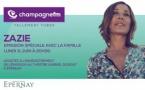 Zazie choisit Champagne FM pour son grand retour