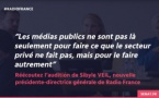 Radio France : Sibyle Veil auditionnée au Sénat