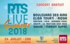"""RTS prépare son """"RTS Summer Live 2018"""""""