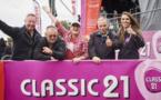 Mille motards pour CAP48 avec les animateurs de Classic21