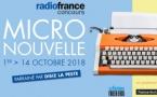 Radio France lance son concours de la micronouvelle