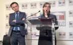 Les députés Pierre-Yves Bournazel et Aurore Bergé ont présenté ce rapport. / Photo François Quairel
