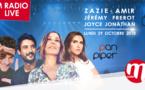 Nouveau M Radio Live avec Zazie, Amir, Joyce Jonathan et Jérémy Frerot