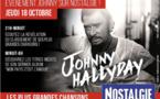 Evènement sur Nostalgie pour la sortie de l'album de Johnny Hallyday