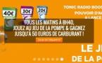 """Tonic Radio lance """"Le jeu de la pompe"""""""