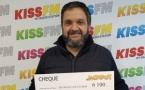Un jackpot de 6 100 euros gagné sur Kiss FM