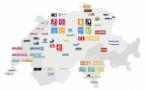 En Suisse, les recettes de la redevance vont aussi aux radios locales