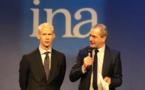 INA : Franck Riester a lancé la construction d'un nouveau bâtiment à Bry-Sur-Marne