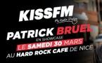 Patrick Bruel en showcase pour KISS FM