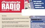 La Lettre Pro de la Radio Numéro 3 - Découvrez le Sommaire
