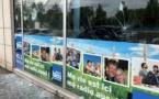 Les locaux de France Bleu Champagne vandalisés à Reims