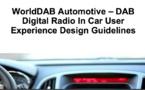 WorldDAB's in-car UX Design Guidelines